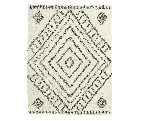 Housedoctor Rug Nubia broken white cotton 210x160cm