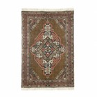 HK-living Teppich Stonewashed Multicolor-Baumwolle Jute 120x180cm