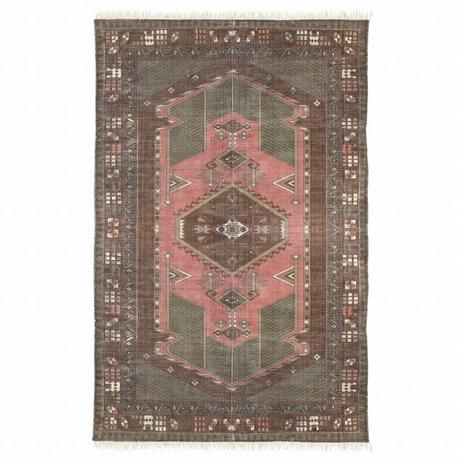 HK-living Tapis coton délavé multicolore 120x180cm