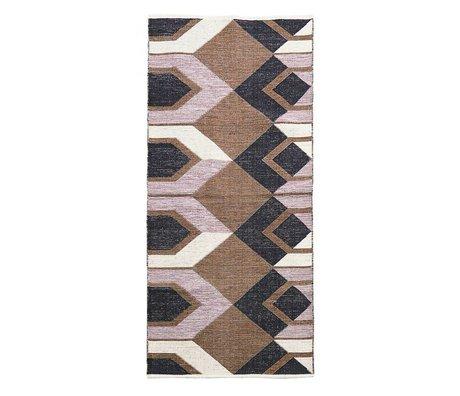 Housedoctor Carpet Art multicolour cotton 213x90cm