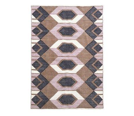 Housedoctor Teppich Kunst Multicolor Baumwolle 230x160cm