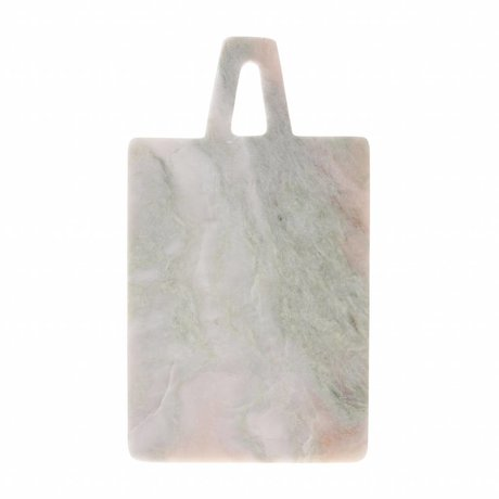 HK-living Cutting board green pink marble 17x30x1,5cm