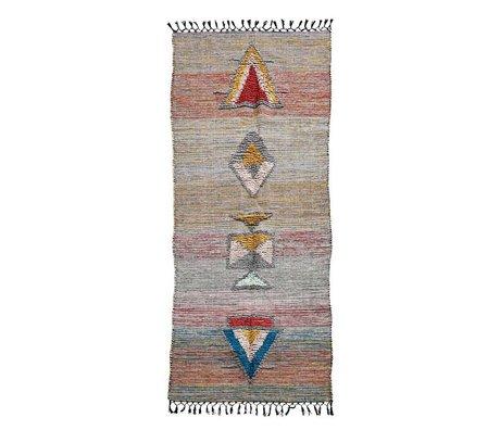 Housedoctor Tapis Amara multicolore textile 200x90cm