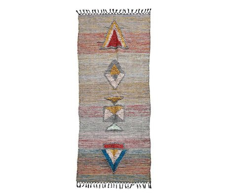 Housedoctor Vloerkleed Amara multicolour textiel 200x90cm