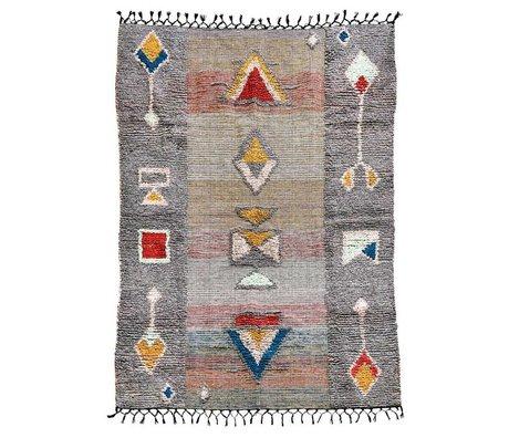Housedoctor Vloerkleed Amara multicolour textiel 200x140cm