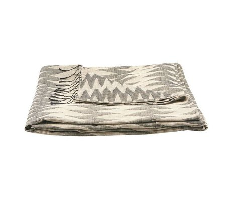 Housedoctor Bedspread Totem gray cotton 260x260cm