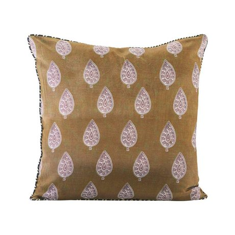 Housedoctor Cushion cover Parsley multicolour cotton 50x50cm