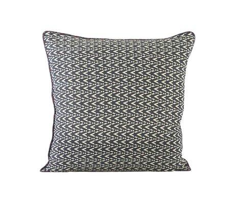 Housedoctor Cushion cover Dotzag multicolour cotton 50x50cm