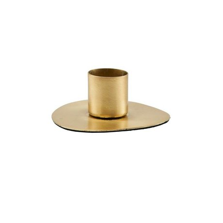 Housedoctor Candlestick Circle brass gold steel Ø7cm