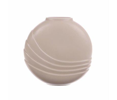 HK-living Vase M matte Haut Keramik 18x5,5x18cm