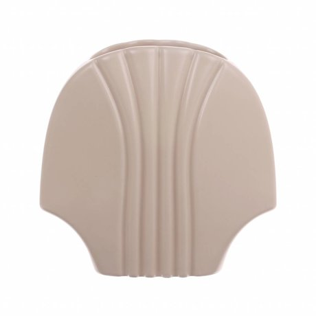 HK-living Vase L matte Haut Keramik 19x10,5x18,5cm