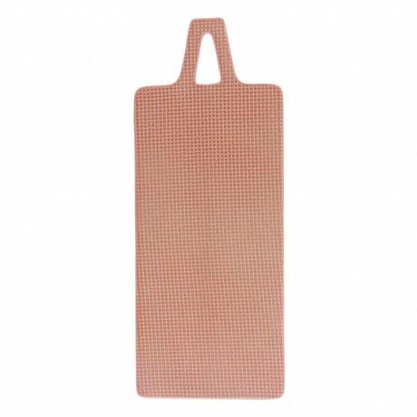 HK-living Planche à découper en céramique rose nue 15x38x1cm
