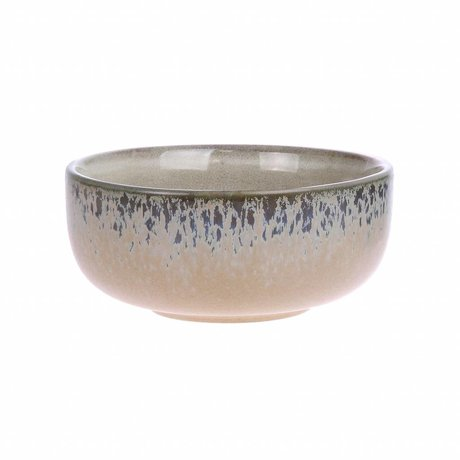 HK-living échelle écorce '70' style céramique multicolore medium 11x11x5cm
