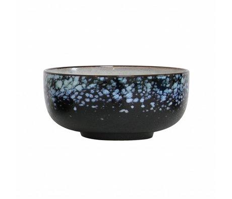 HK-living Échelle de galaxie '70's style céramique multicolore medium 11x11x5cm