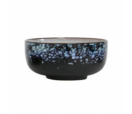 HK-living Skala Galaxie '70er Stil multicolor Keramik Medium 11x11x5cm