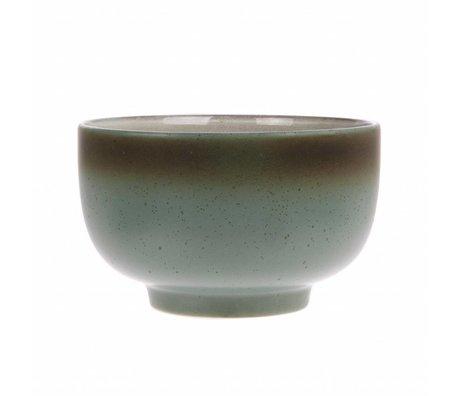 HK-living scale moon '70's style multicolour ceramics 13,5x13,5x8cm