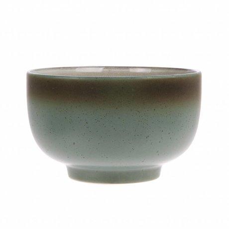 HK-living Skala Mond '70 Stil multicolor Keramik 13,5x13,5x8cm