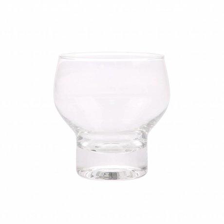 HK-living drinkglas transparant glas 9x9x9,2cm