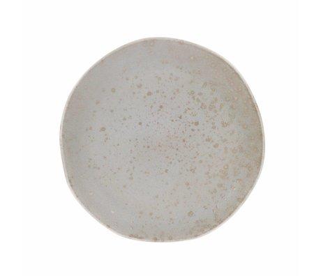 HK-living Speiseteller Minze Keramik Fett & Basic 28,5x28,5x3cm