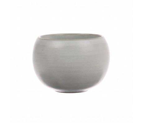 HK-living Becher um weiße Keramik kyoto 8x8x6cm