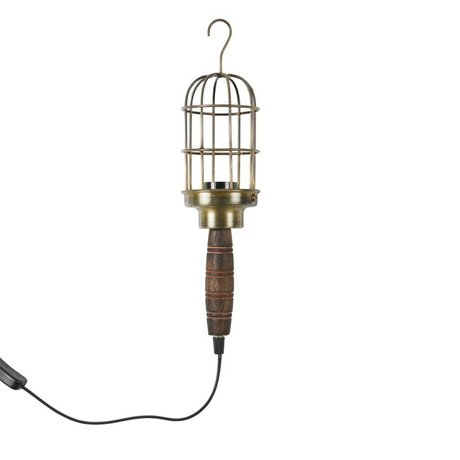 BePureHome looplamp Mine antiek brass goud metaal 40x8x8cm