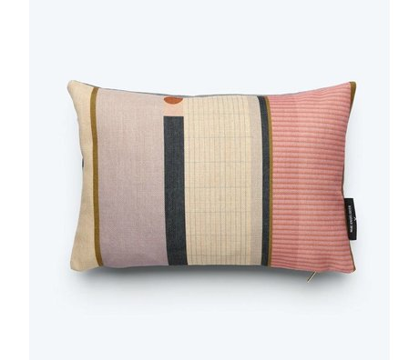 FÉST Throw pillow Line (Fest x Mae Engelgeer) multicolour cotton 45x30cm
