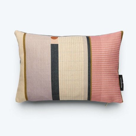FEST Amsterdam Throw pillow Line (Fest x Mae Engelgeer) multicolour cotton 45x30cm