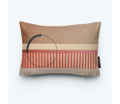 FEST Amsterdam Throw Pillow Ring (Fest x Mae Engelgeer) multicolour cotton 45x30cm
