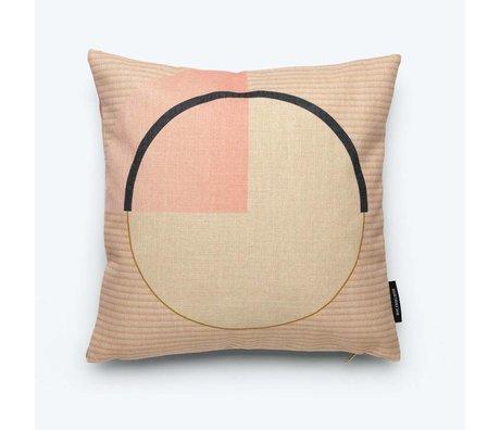 FÉST Coussin Circle (Fest x Mae Engelgeer) coton multicolore 45x45cm