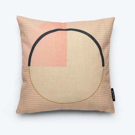 FÉST Throw pillow Circle (Fest x Mae Engelgeer) multicolour cotton 45x45cm