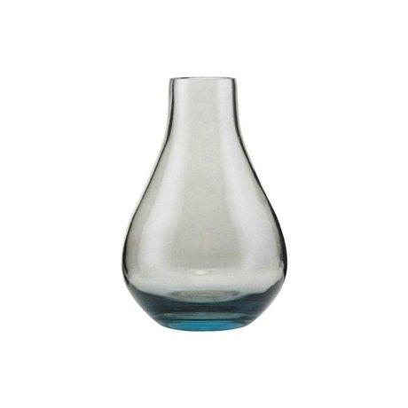 Housedoctor Vase Sandra verre gris Ø7x11cm