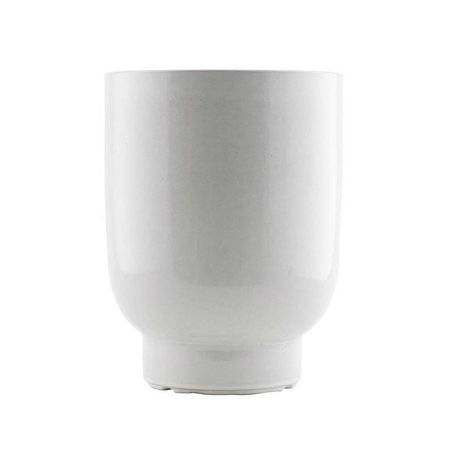 Housedoctor Plant pot white faience Ø20x26cm