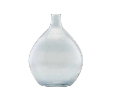 Housedoctor Vase Baloon gray glass Ø34x43cm
