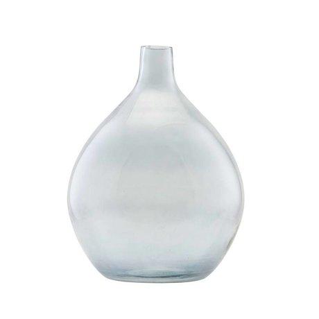 Housedoctor Vase Baloon graues Glas Ø34x43cm