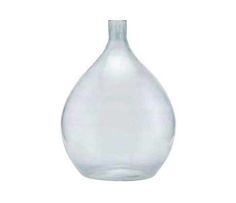 Housedoctor Vaas Baloon grijs glas Ø43x57cm