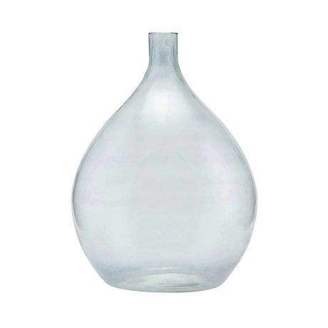 Housedoctor Vase Baloon verre gris Ø43x57cm
