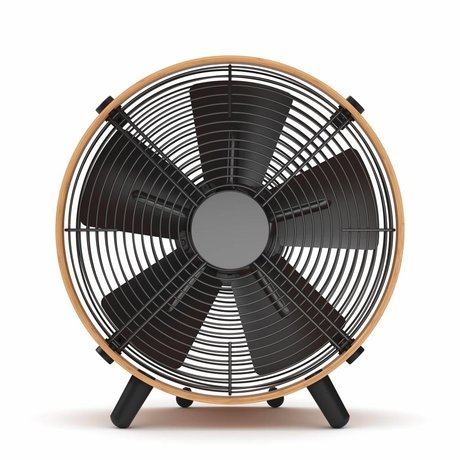 Stadler Form Fan Otto brown black bamboo 35x37,6x18,5cm