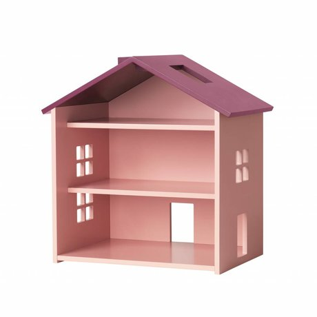 NOFRED House Harbor pink MDF 34x23,5x39,3cm