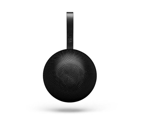Vifa Bluetooth Lautsprecher Reykjavik schwarz Aluminium Ø13,9x6,5cm