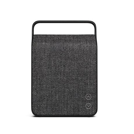 Vifa Bluetooth speaker Oslo anthracite gray aluminum textile 18,1x9x26,8cm