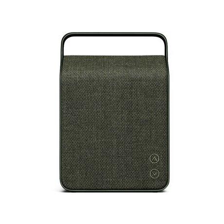 Vifa Bluetooth speaker Oslo dark green aluminum textile 18,1x9x26,8cm