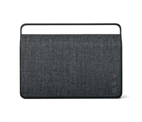 Vifa Bluetooth speaker Copenhagen 2.0 antraciet grijs aluminium textiel 36,2x9x26,8cm