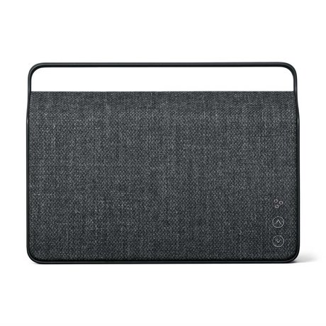 Vifa Bluetooth Lautsprecher Copenhagen 2.0 anthrazitgrau Aluminium Textil 36,2x9x26,8cm