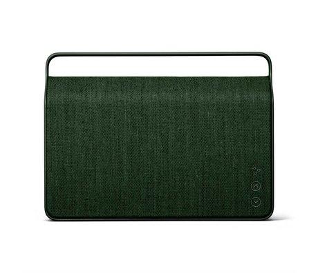 Vifa Enceinte Bluetooth Copenhagen 2.0 vert foncé aluminium textile 36,2x9x26,8cm