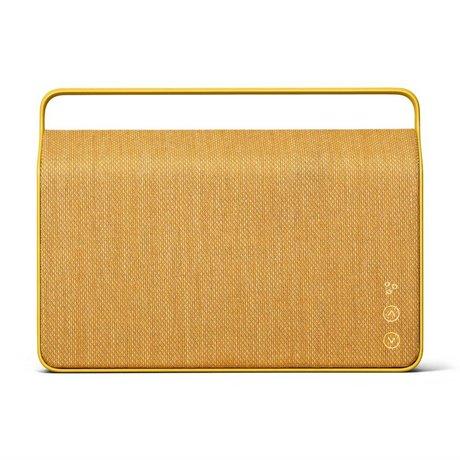 Vifa Enceinte Bluetooth Copenhagen 2.0 jaune aluminium textile 36,2x9x26,8cm