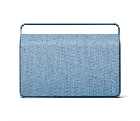 Vifa Bluetooth Lautsprecher Copenhagen 2.0 Eisblau Aluminium Textil 36,2x9x26,8cm