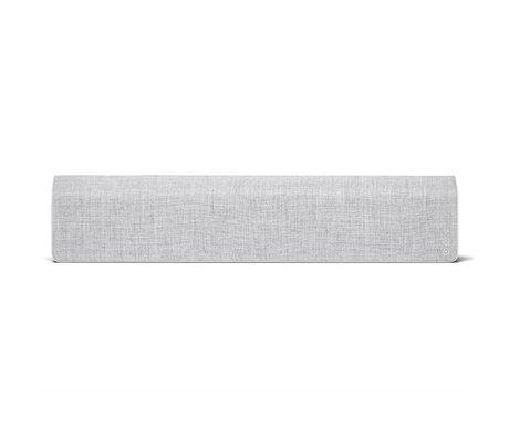 Vifa Enceinte Bluetooth Stockholm 2.0 aluminium gris clair textile 110x10x21,5cm