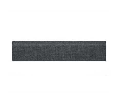 Vifa Bluetooth Lautsprecher Stockholm 2.0 Anthrazitgrau Aluminium Textil 110x10x21,5cm