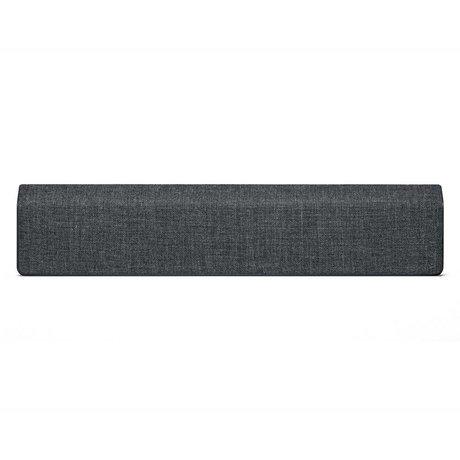 Vifa Bluetooth speaker Stockholm 2.0 antraciet grijs aluminium textiel 110x10x21,5cm