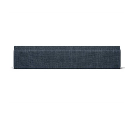 Vifa Bluetooth speaker Stockholm 2.0 dark blue aluminum textile 110x10x21,5cm